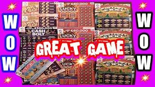 What Great.& Exciting  Scratchcard Game..£30.Cards.Lucly Bonus.Cash Bolt.INSTANT £100