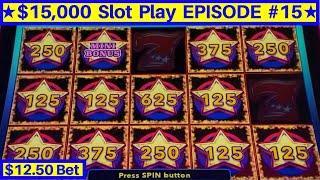 Super Star Sevens Liberty Link Slot Machine $12.50 Bet Bonus | EPISODE-15 | Live Slot Play w/NG Slot