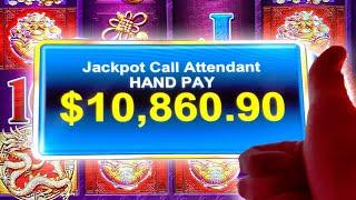 2 UNBELIEVABLE JACKPOTS!  HIGH LIMIT TREE OF WEALTH  TREE OF WEALTH