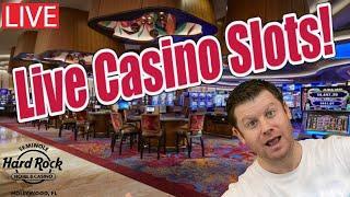 Live Bank The Bonus Slot Play from Seminole Hard Rock Hollywood!
