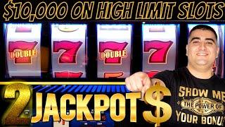 $10,000 On High Limit Slot Machines & 2 Handpay Jackpots   Live Slot Play In Las Vegas At The Cosmo