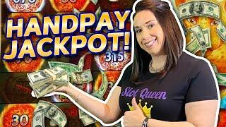 TOUCHDOWN !! HANDPAY JACKPOT !! I HAVE NEVER SEEN THAT BEFORE !!!!
