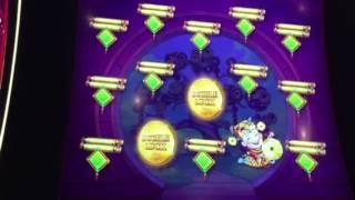 Tree of Wealth Rich Traditions Slot Machine Progressive Bonus #1 New York Casino Las Vegas