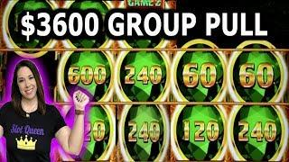 $3,600 GROUP PULL ‼️ HIGH LIMIT LIGHTNING LINK & MIGHTY CASH DOUBLE UP ‼️