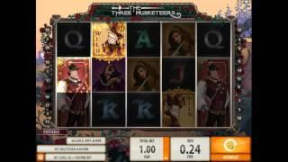 The Three Musketeers slot from QuickSpin - Gameplay