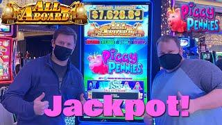 MY BEST COMEBACK EVER   All Aboard Piggy Pennies Jackpot Bonus Comeback!