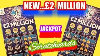 What a Cracking Scratchcard Game..NEW £2 MILLION BLUE £5 Cards