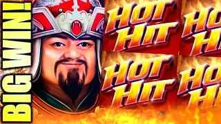 HOT HIT IGNITES BIG! AND TEMUJIN SHOWS ME HIS TREASURES!  Slot Machine (IGT)