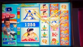 WMS Dean Martin pool party slot machine free spins