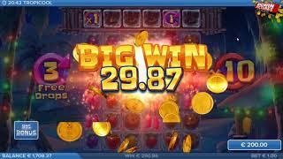 Tropicool Slot - BIG WINS During Free Spins!