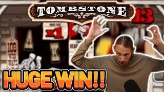 HUGE WIN! TOMBSTONE BIG WIN - CASINO Slot from CasinoDaddys LIVE STREAM