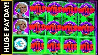 ALL LOCKED WILDS FOR 9 SPINS!  2nd SPIN HUGE WIN BONUS  NEW LITTLE SHOP OF HORRORS SLOT MACHINE!