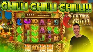 CHILLI CHILLI CHILLI!! | BIG WIN ON EXTRA CHILLI SLOT BY BIG TIME GAMING