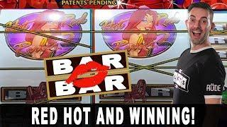 RED HOT WINNING!  Red Ruby Is LADY LUCK  VGT Red Screens at Choctaw Durant  #ad
