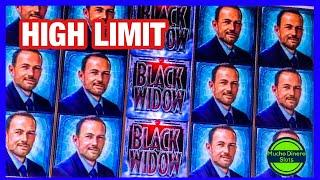 HIGH LIMIT MAX BETS/ FREE GAMES/ BLACK WIDOW SLOT HIGH LIMIT/ LIMITE ALTO