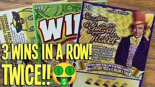 LOADED WITH WIN$! **$200 NEW TICKETS** Willy Wonka + Wild $10 + Winner Winner Chicken Dinner!