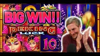 HUGE WIN! PEKING LUCK BIG WIN - €5 bet on CASINO Slot from CasinoDaddys LIVE STREAM