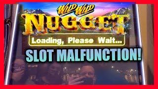 OUR GROUP PULL MALFUNCTIONED!  WILD WILD NUGGET HIGH LIMIT GROUP PULL  $10 BETS