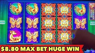 ️$8.80 MAX BET HUGE WIN️FLOWER OF RICHES & TREE OF WEALTH Slot Machine Bonus Compilation