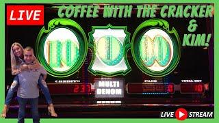 LIVE! Coffee With Cracker and Kim