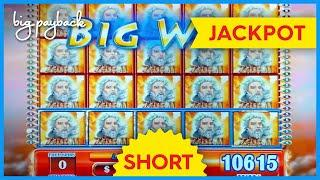 BIGGEST JACKPOT ON YOUTUBE for Zeus 2 Slot - AWESOME HANDPAY! #Shorts