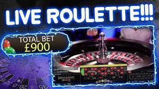 £1,000 vs Live Roulette!!!