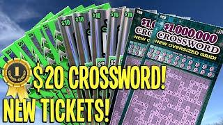 FIRST $20 CROSSWORD! **NEW TICKETS** Playing ALL 3!  $115 TEXAS LOTTERY Scratch Offs