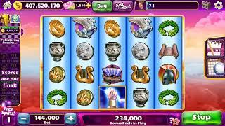 ZEUS II Video Slot Casino Game with a FREE SPIN and SUPER RESPIN BONUS.