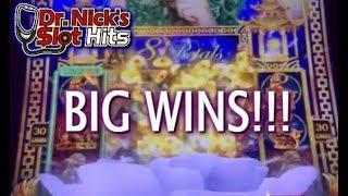 **PETALS AND BIG WHEEL WINS!** 8 Petals and Super Wheel Blast Slot Machines