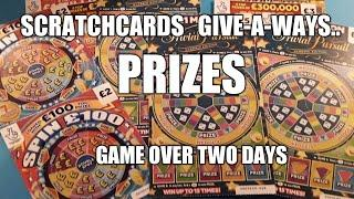 SCRATCHCARDS..PICK THE WINNER GAME(WINNERS GET CARDS SENT)