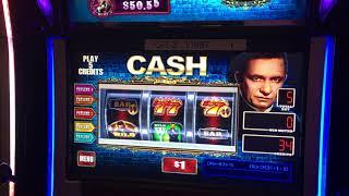 NEW Johnny Cash 3-Reel Slot MAX BET Live PLay!