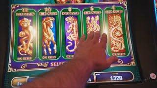 Tree of Wealth Slot Machine Bonus Won ! Live Slot Play