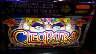 Live Play High Limit Oldie $9 bet 5 line IGT Cleopatra slot machine