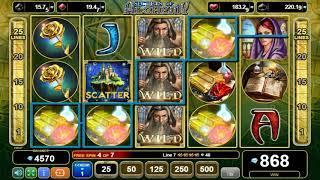 Secrets of Alchemy online slots - 920 win!