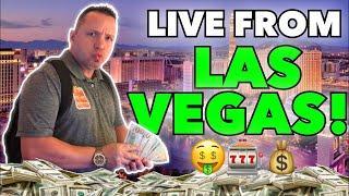 LIVE Slots!  Dan breaks the bank at The Cosmopolitan Las Vegas!