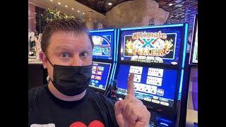 Late Night Ultimate X Video Poker from Atlantis Casino Resort  Spa Reno!