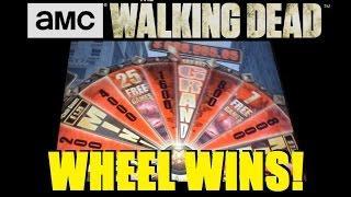 • MAX BET WALKING DEAD SLOT MACHINE BIG WIN! The Walking Dead Slot Machine Bonus ~ DProxima