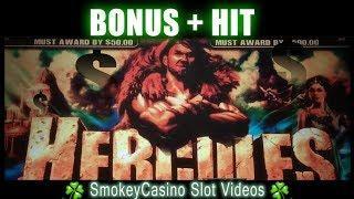 HERCULES! Slot Bonus and Hit  WMS