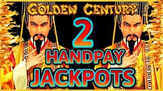 HIGH LIMIT Dragon Link Golden Century (2) HANDPAY JACKPOTS ~ $50 Bonus Round Slot Machine Casino