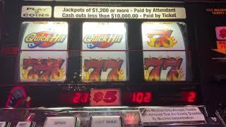 5 Times Pay - Double Jackpot Quick Hits - High Limit Slot Play
