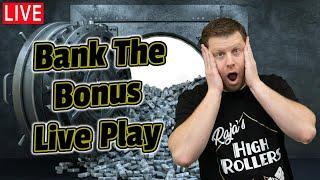 Las Vegas Casino Slots - Bank the Bonus Live from The Cosmopolitan!