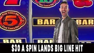$30/Spin HIGH LIMIT Hits BIG  BONUS TIMES!  Agua Caliente Palm Springs #ad