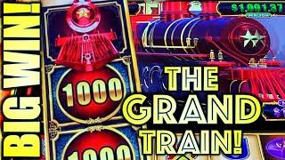 BIG WIN! THE GRAND TRAIN! COME ON GRAND JACKPOT!  CASH EXPRESS LUXURY LINE (Aristocrat Gaming)
