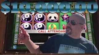 $10,000 in JACKPOT HANDPAYS on HIGH LIMIT CHINA SHORES SLOT MACHINE!!!