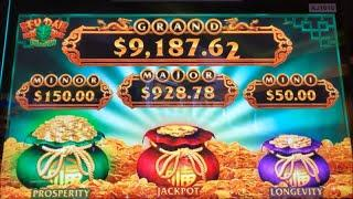 NEW GAME Nice ProfitFU DAI LIAN LIAN DRAGON Slot (Aristocrat)  $225.00 Free Play Live $4.40 Bet彡栗