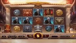 Champions of Rome slot from Yggdrasil Gaming - Gameplay
