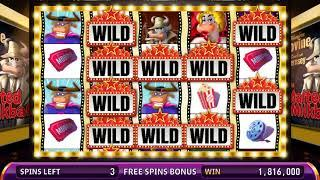 NIGHT AT THE MOOVIES Video Slot Casino Game with a LOBBY FREE SPIN BONUS