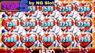 Top JACKPOTS In 2018 By NG | High Limit Lock It Link | Dancing Drums| Lightning Link | Cleopatra 2