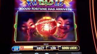 Fu Dao Le Slot Machine Multiple Good Fortune Features / Bonus SLS Casino Las Vegas