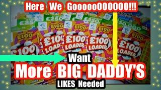 We will add extra £10 Scratchcard if we 40 Likes & if we get 60 Likes we will do 2X £10 BG DADDY'S